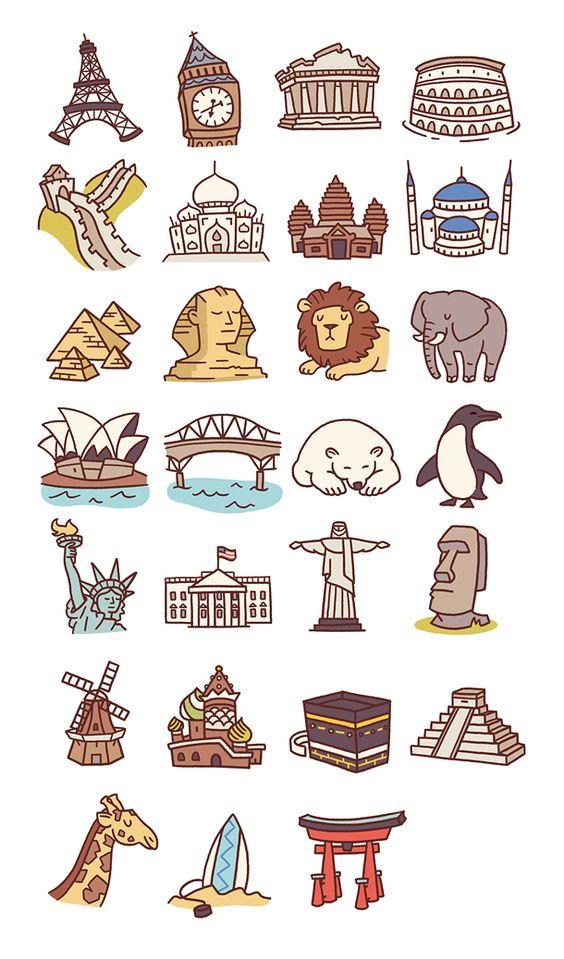 Travel icons pt 2: