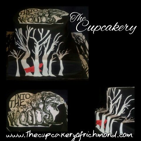 Into the Woods Cake