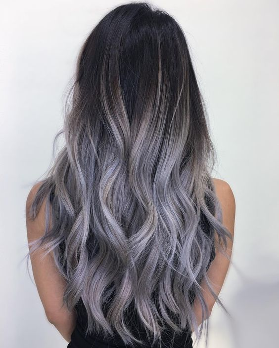 lilac hair color