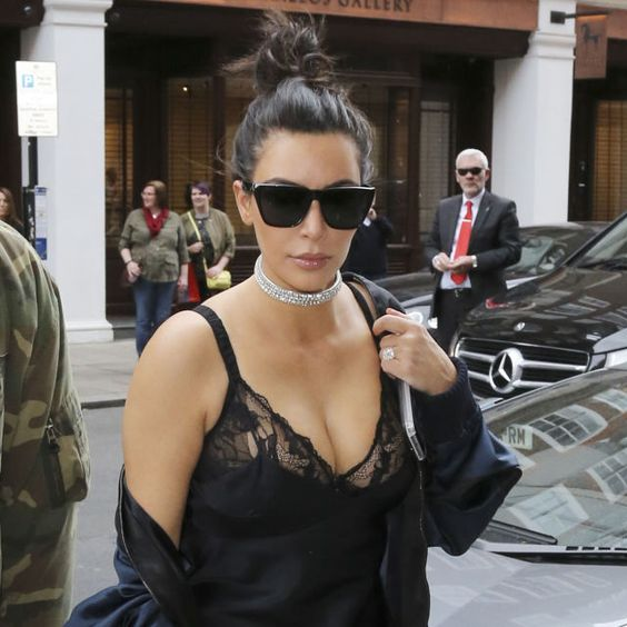 Kim Kardashian's Outfit Is Guaranteed to Make You Think About Sex