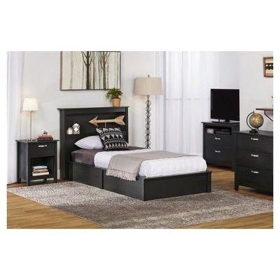 Sullivan Platform Bed Frame Twin Black Oak Room Joy Platform Bed Frame Bed Frame Platform Bed