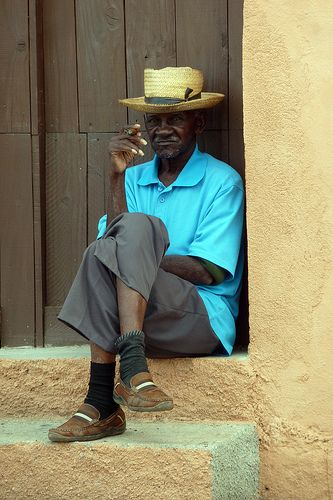 Morning Cigar - Trinidad, Cuba | Flickr - Photo Sharing!