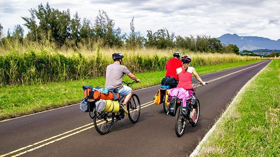 There's no better way to explore the 560-square-mile island of Kauai than on bikes.