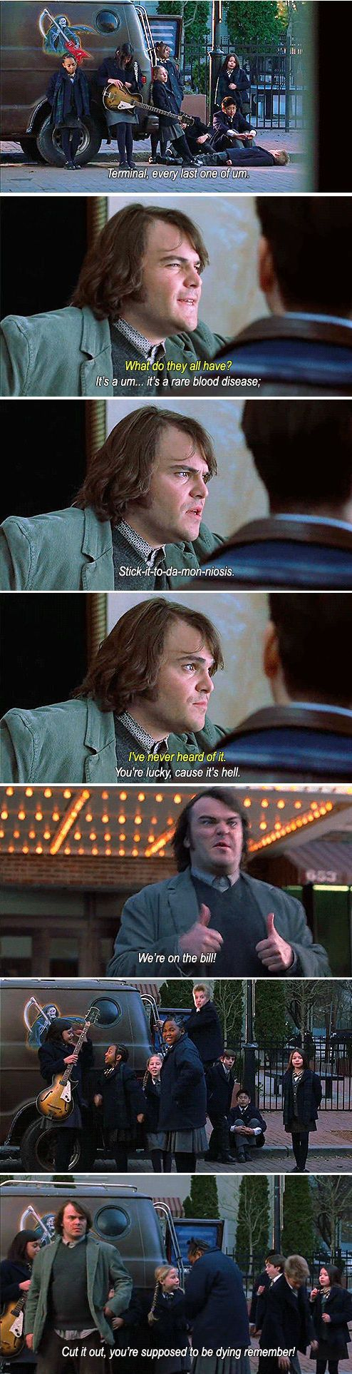 School of rock jack black quotes quotesgram - Ms Lemons Must Be On Crack School Of Rock You Make Me Laugh Pinterest Humor