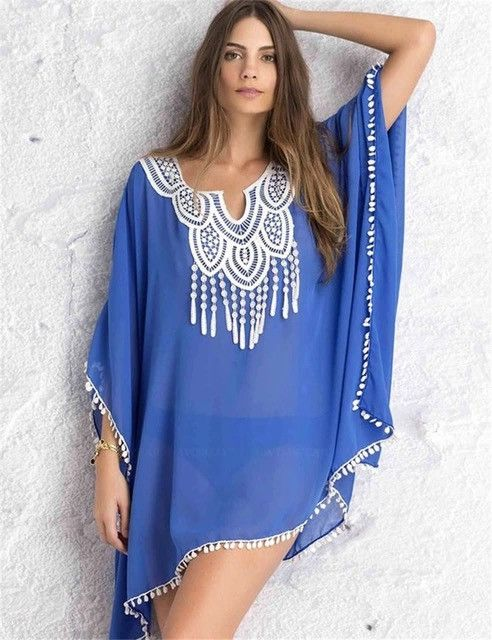 Native Inspired Summer Beach Cover Up