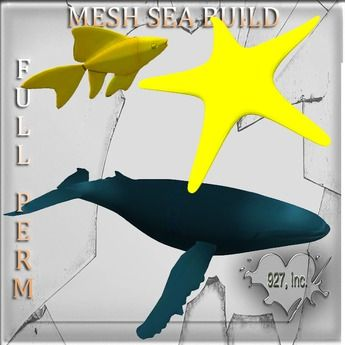 Mesh Fish_ Whale build Full perm