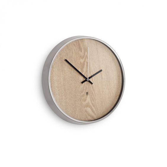 MADERA  WALL CLOCK NATURAL