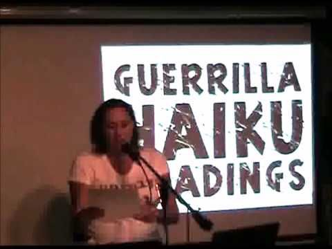 """2 years ago I posted YouTube video of me reading (S) my poem """"ends"""" from my """"Partial Nudity"""" book release feature live 6/18/14 at Chicago's open mic """"the Cafe Gallery"""" (and this haiku also appears in my supplement mini-book 100 Haikus)."""