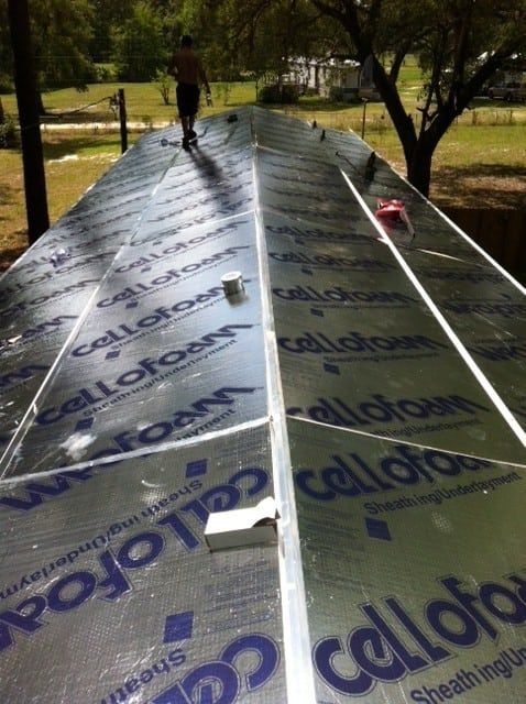 Makeover Roof Mobile Home Roof Over Gallery Mobile Home Roof Mobile Home Mobile Home Makeover