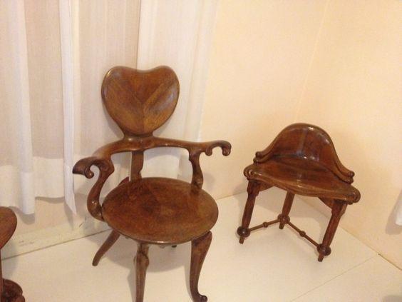 Gaudî furniture.