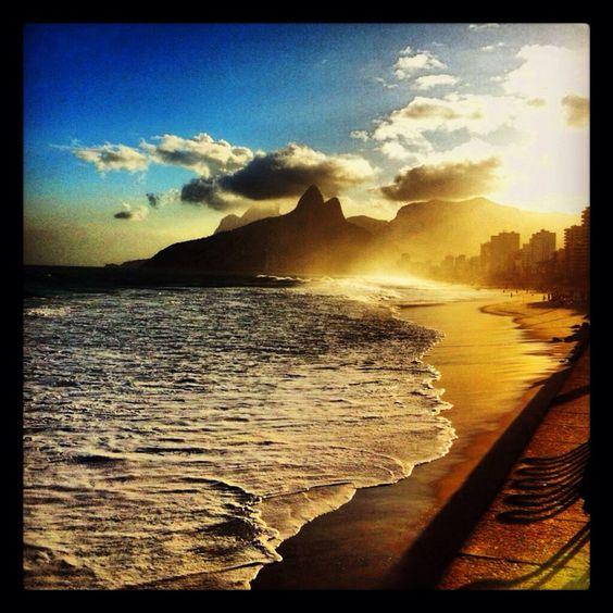 Describe tu pin...Playa de Ipanema, Rio de Janeiro