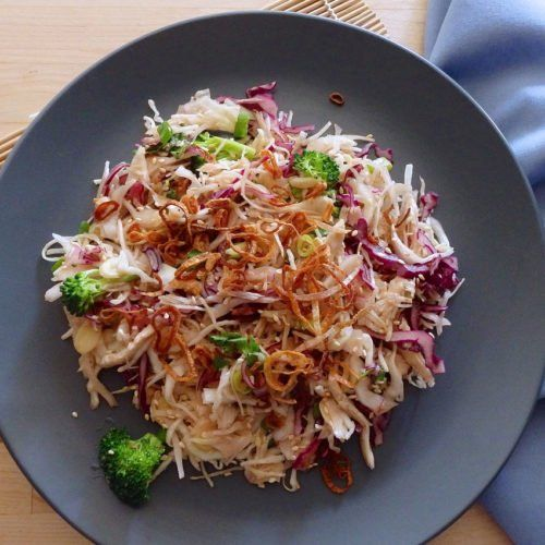 Asian Chicken And Cabbage Salad The Candida Diet Recipe Candida Diet Recipes Chicken And Cabbage Candida Recipes