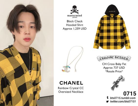 200508 | Jimin : Official Twitter Update... : BTS FASHION/STYLE FINDER