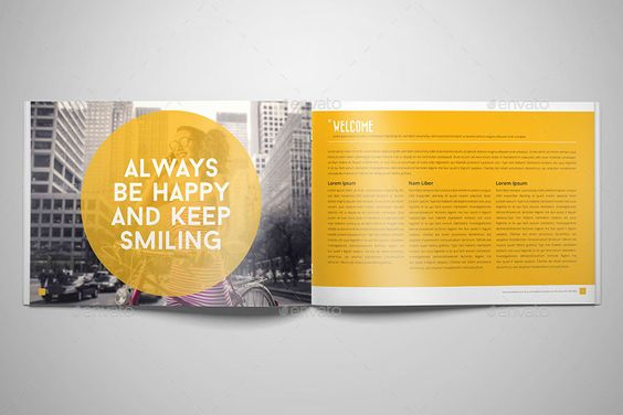 Business Horizontal Brochure 24 Pages Indesign