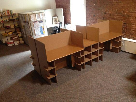 cardboard office case studies chairigami cardboard office