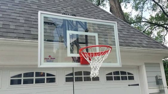 Roof Master roof mounted basketball hoop by First Team