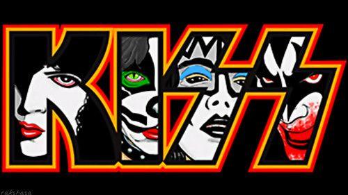 Kiss Wallpaper Kiss Paul Peter Ace And Gene Kiss Logo Band Stickers Kiss Art