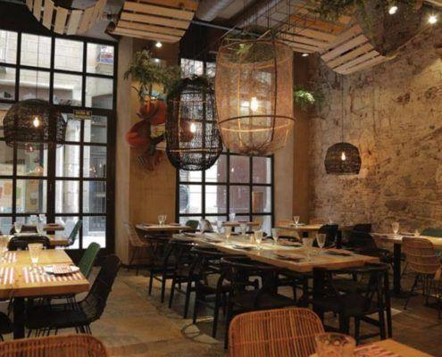Bedroom Restaurant Bar Cafe Iluminación de Interiores