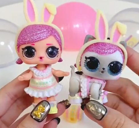 Lol Surprise Spring Bling Easter Hops And Hops Kit Tea Doll Real Photos In 2020 Lol Dolls Hot Toys Dolls