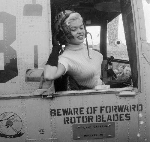 Pilot Jayne Mansfield