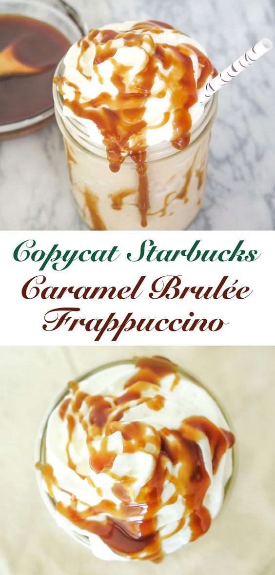 Starbucks Caramel Brulée Frappuccino is a pretty tasty seasonal beverage.
