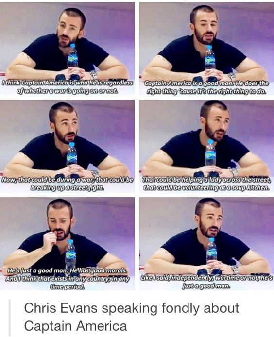 Chris and Seb talk fondly of their characters