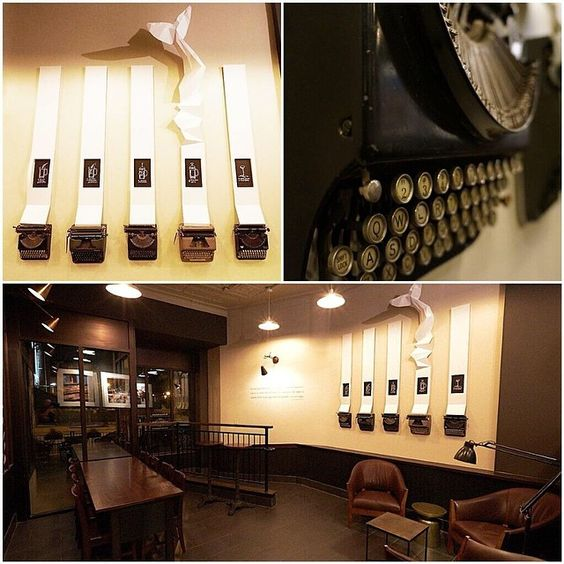 Our Wicker Park store pays homage to local writers in Chicago. #starbucksdesign