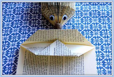 Book folding - in German