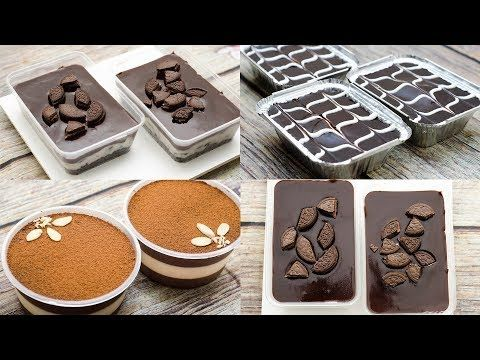 3 Easy No Bake Dessert Box L Eggless Without Oven Youtube Dessert Boxes Starbucks Drinks Recipes Desserts