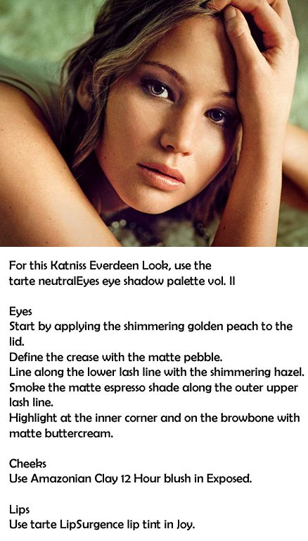 Katniss Everdeen - how to get her all natural look: