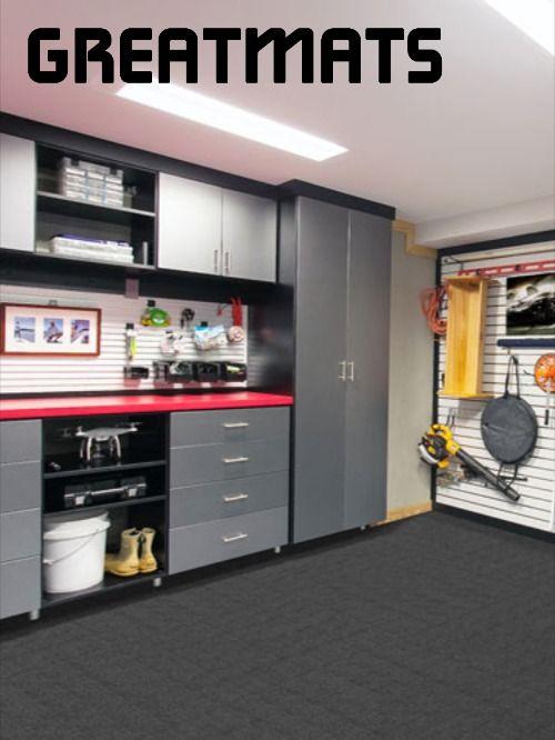 Durable Ridgeline 24x24 In Carpet Tile, Carpet Tiles For Garage Floors