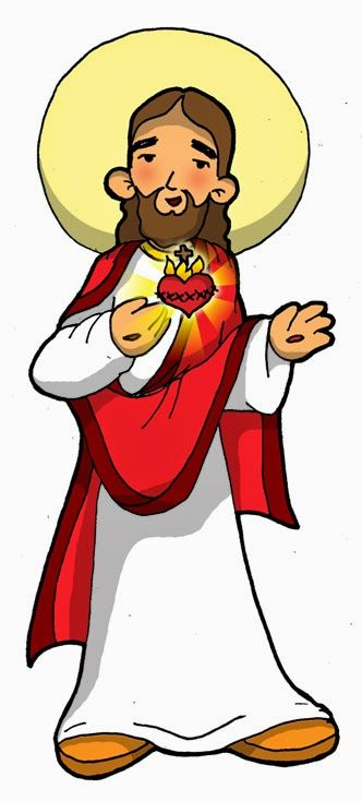 SAGRADO CORAZÓN DE JESÚS Dibujos para catequesis | My Faith ...
