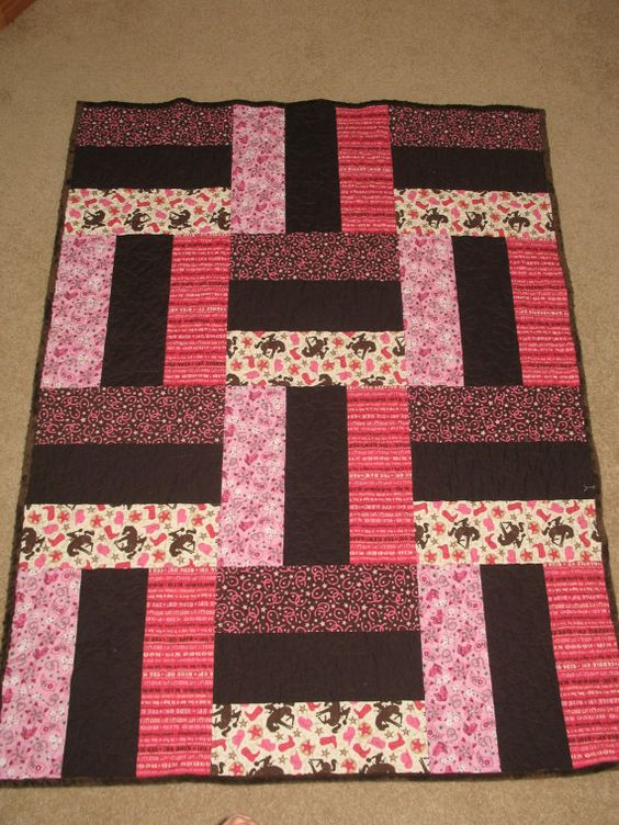 Toddler Quilt Flat Sheet and Pillow Case by jessicashorsenaround, $265.00