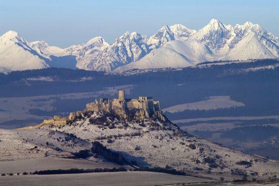 Slovakia,  Spišský hrad
