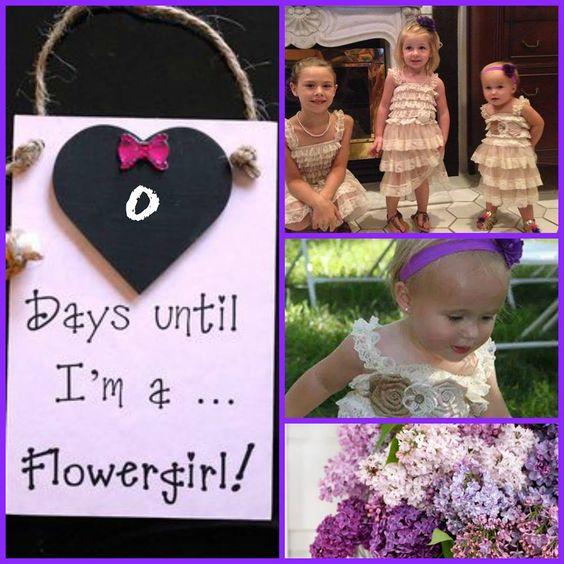 0 days until I'm a flowergirl!
