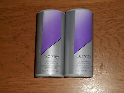 awesome 2 AVON ODYSSEY BODY POWDER 1.4 EACH (NEW) - For Sale View more at http://shipperscentral.com/wp/product/2-avon-odyssey-body-powder-1-4-each-new-for-sale/