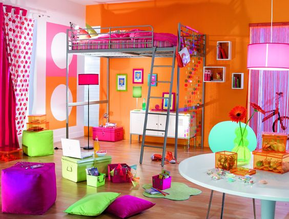 chambre d 39 ados fille recherche google idee pour elodie. Black Bedroom Furniture Sets. Home Design Ideas