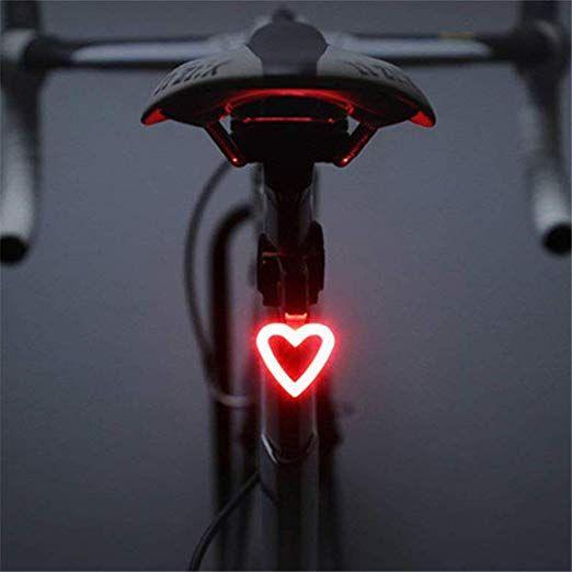 5 Blue Flashlight 2 Red Laser Bicycle Lamp Bike Light Cycling