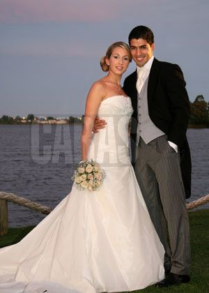 Luis Suarez and Wife Sofia Balbi