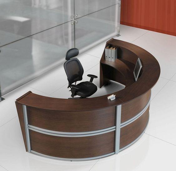 Muebles de oficina modulos de recepcion consultorios for Muebles de recepcion de oficina