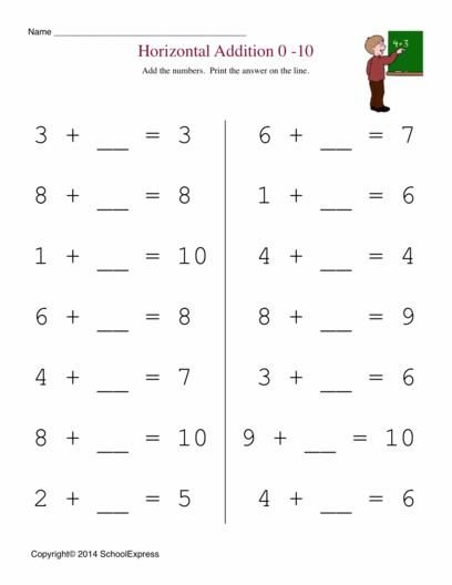 math worksheet : math worksheets free addition worksheets story problems  : Horizontal Math Worksheets