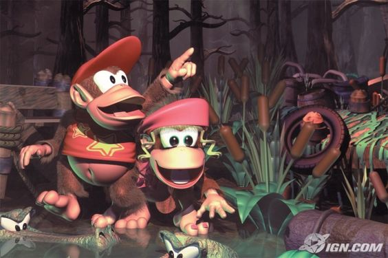 Donkey Kong Country 2 (SNES - 1995).  One of the best game soundtracks ever by the way!