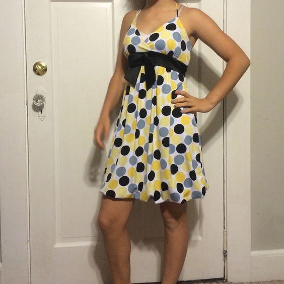 ☀️summer fun☀️ Polka dot bubble dress Body Central Dresses