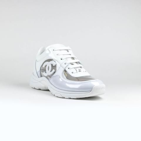 Chanel CC Logo White Transparent