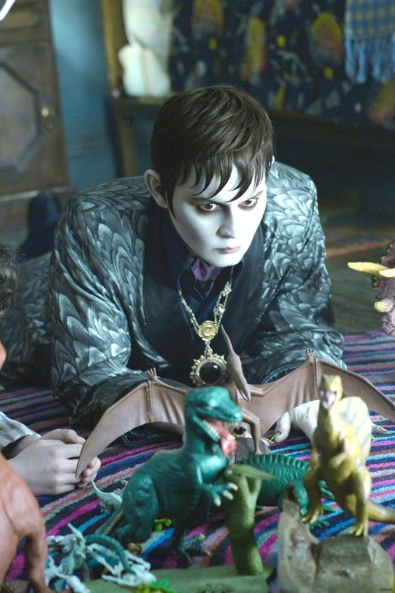Johnny Depp as Barnabus Collins - Dark Shadows
