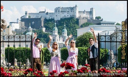 Salzburg Sound Of Music Movie Film Locations Tour Map Sound Of Music Tour Sound Of Music Movie Filming Locations