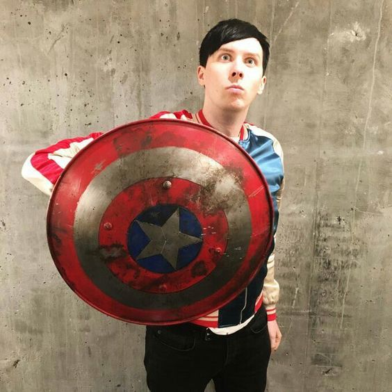 Captain america phillip