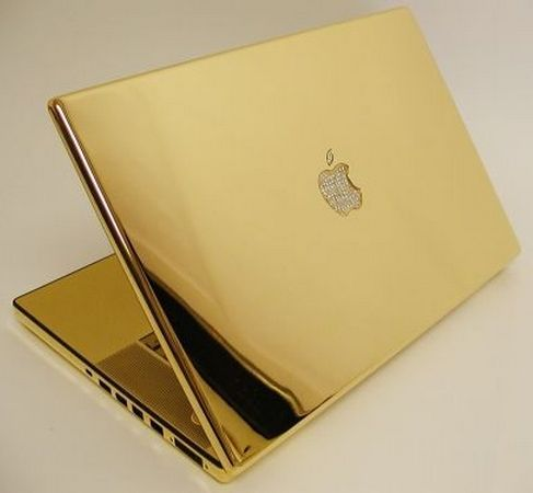 Diamonds and gold apple mac....in the beginning.....