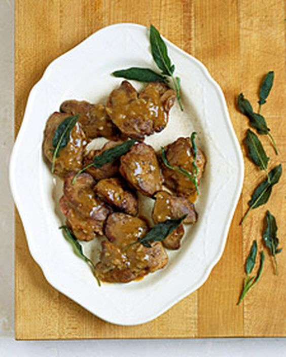 Chicken Livers with Shallots and Marsala | Recipe