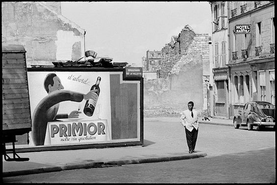 Henri Cartier-Bresson, Paris, France, 1955
